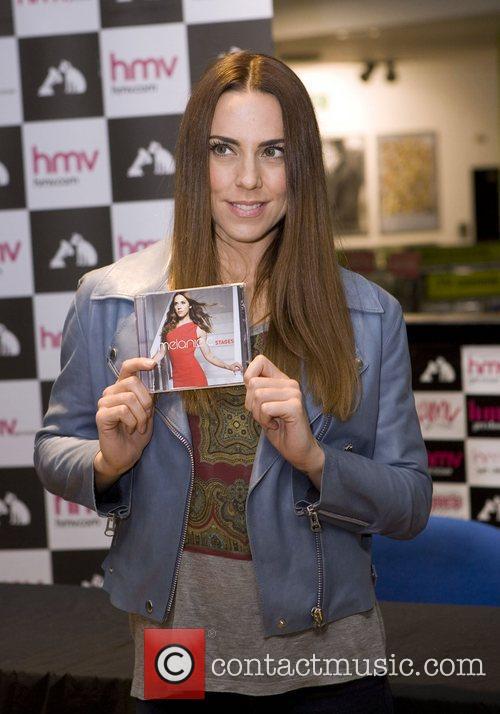 Melanie Chisholm aka Melanie C attending a CD...
