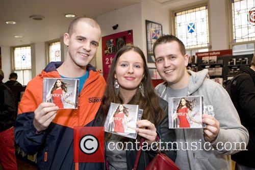 Melanie C fans Tony McGurk, Jecelyn Wallace and...
