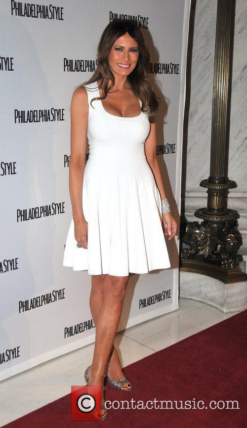 Melania Trump attends the Philadelphia Style Magazine cover...