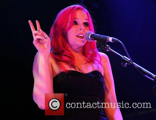 Molly McQueen performing onstage at the O2 Academy...