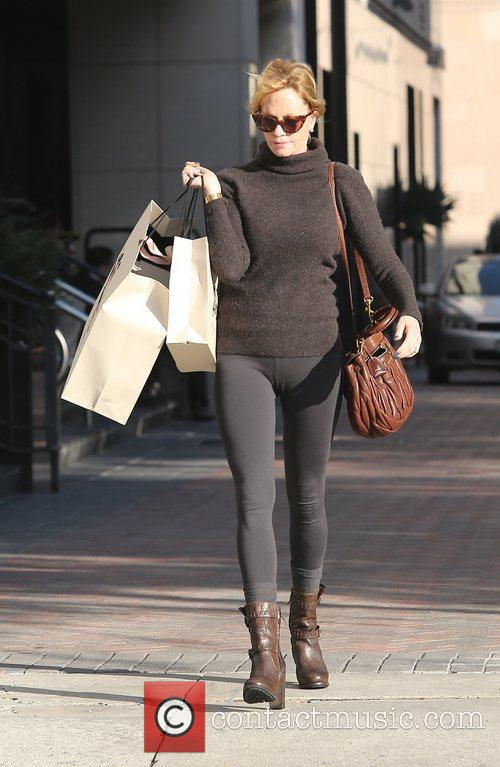 Enjoys a day of shopping in Beverly Hills
