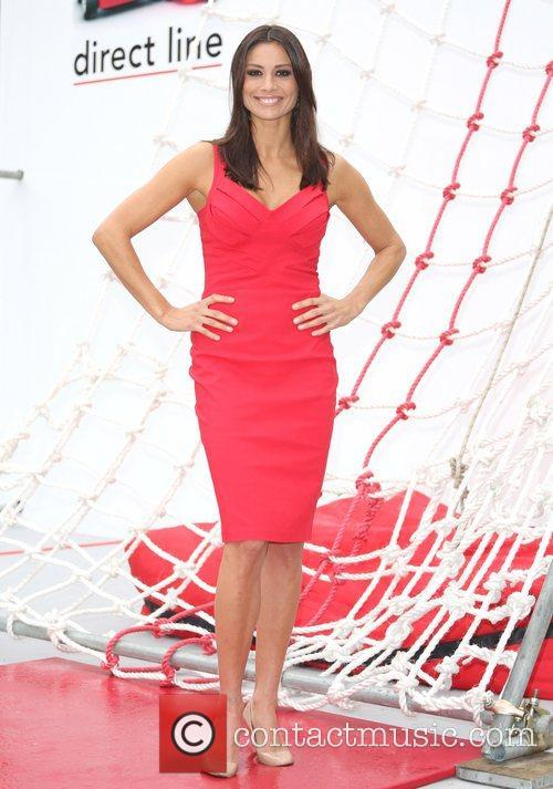 Melanie Sykes Take the Direct Line photocall London,...