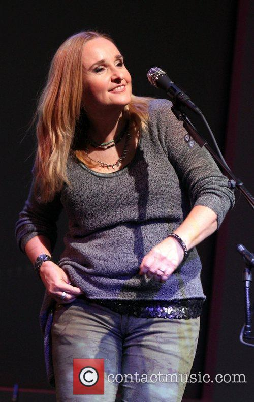 Musician Melissa Etheridge perfoming for 'Meet the Musician:...