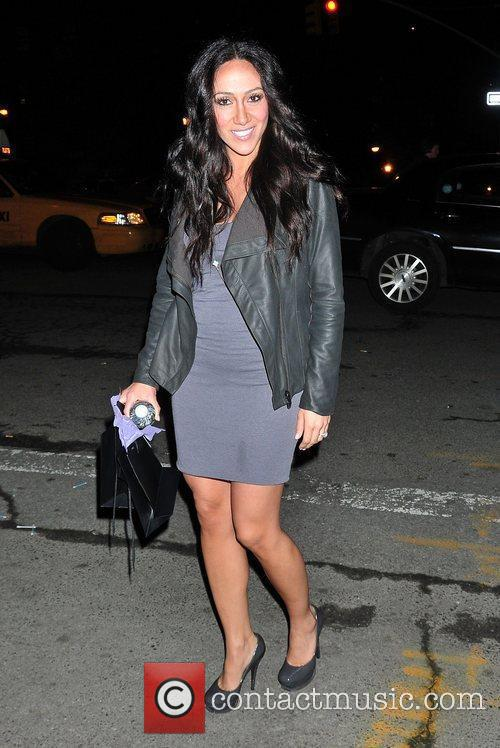 Melissa Gorga out and about.