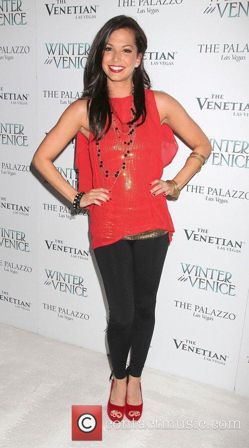 Melissa Rycroft and Las Vegas 5