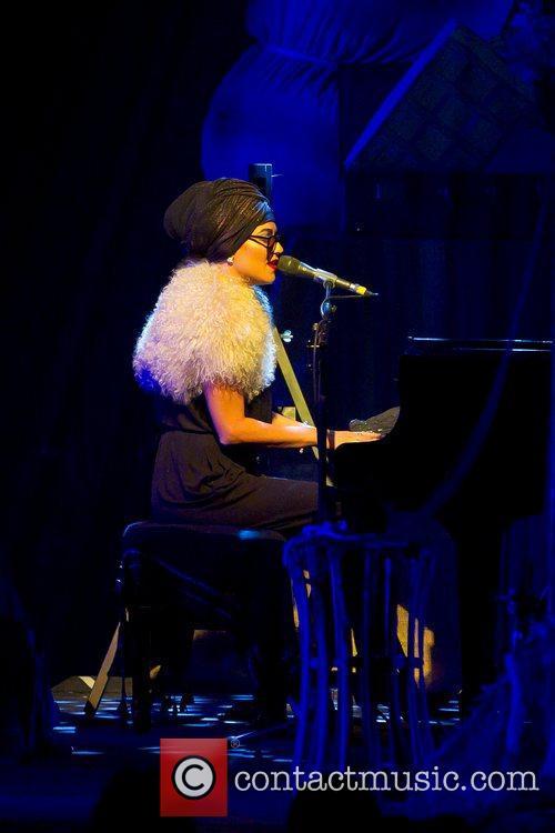 Performing live in concert at Lisebergshallen
