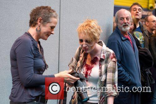 Melissa McBride The 2012 Memorabilia Show at the...