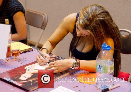 Linsey Dawn McKenzie The 2012 Memorabilia Show at...