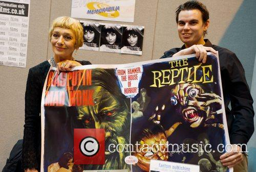 Jacqueline Pearce The 2012 Memorabilia Show at the...