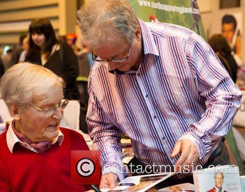 Nicholas Parsons The 2012 Memorabilia Show at the...