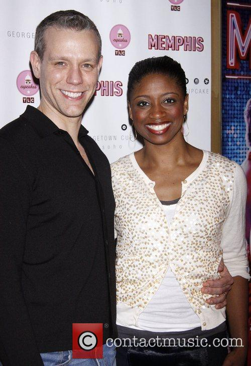 Adam Pascal and Montego Glover 3