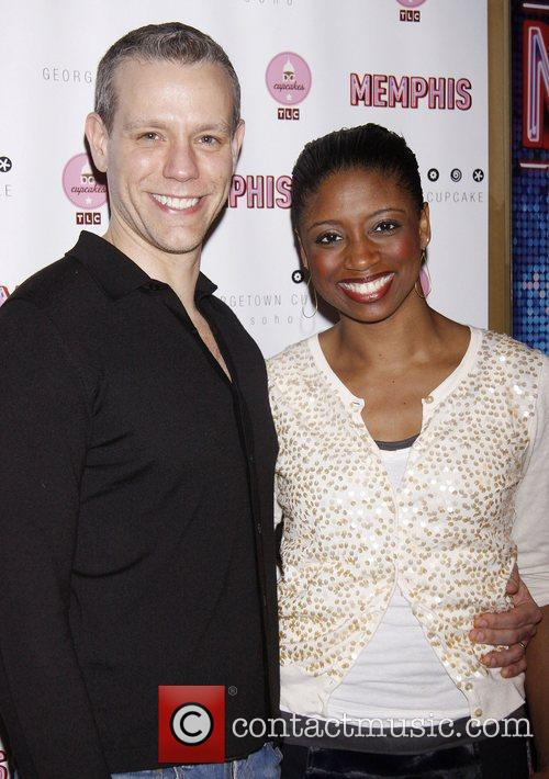 Adam Pascal and Montego Glover 1