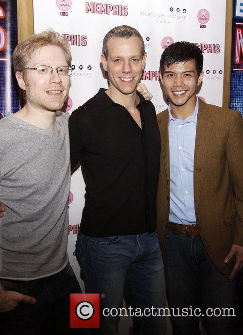 Anthony Rapp and Adam Pascal 2