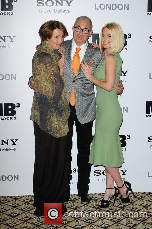 Emma Thompson, Alice Eve and Barry Sonnenfeld 7