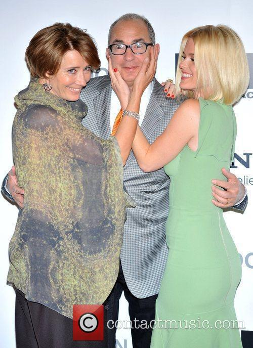 Emma Thompson, Alice Eve and Barry Sonnenfeld 5