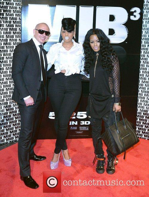 Pitbull and Teyana Taylor 2