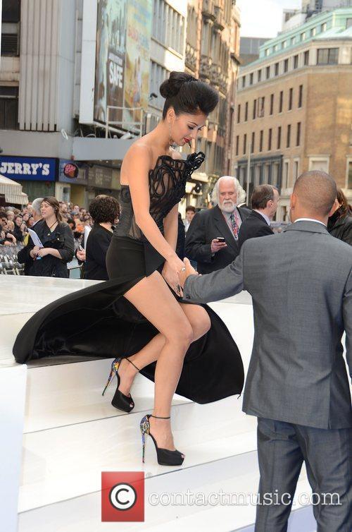 Nicole Scherzinger, Lewis Hamilton and Odeon Leicester Square 6