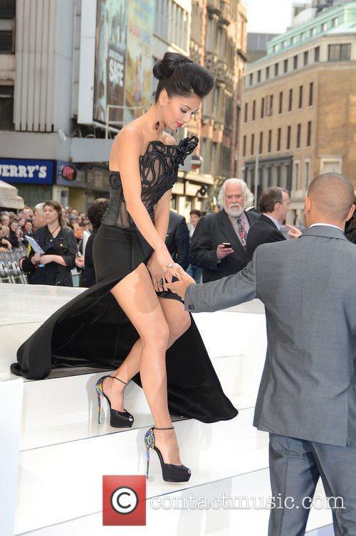 Nicole Scherzinger, Lewis Hamilton and Odeon Leicester Square 7
