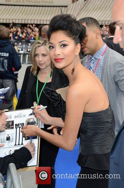 Nicole Scherzinger and Odeon Leicester Square 2