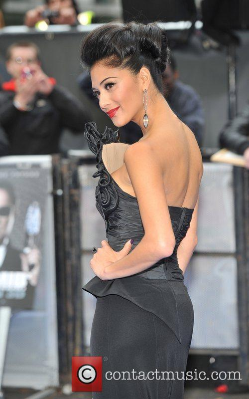 Nicole Scherzinger and Odeon Leicester Square 3