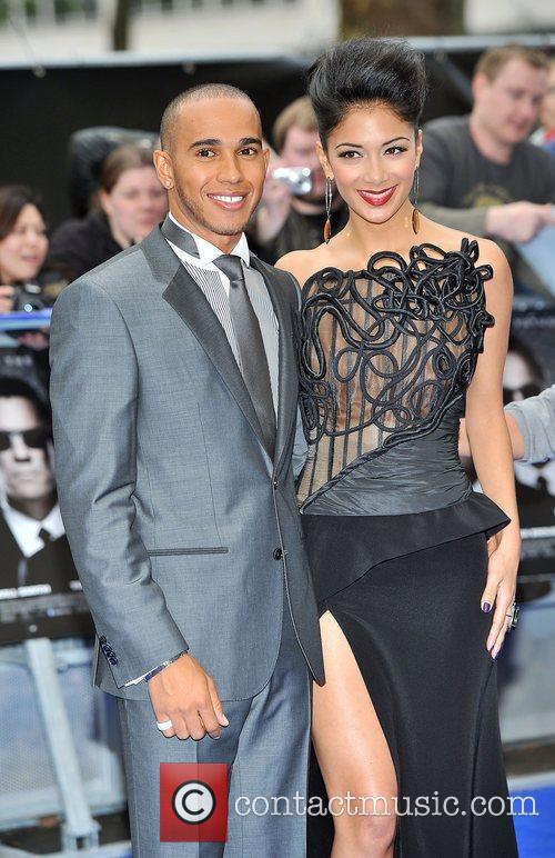 Lewis Hamilton & Nicole Scherzinger MIB3