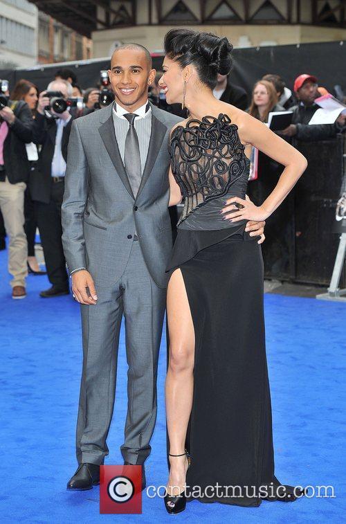 Lewis Hamilton, Nicole Scherzinger and Odeon Leicester Square 15