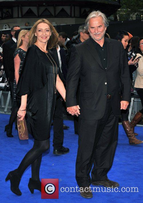 Trevor Eve, Sharon Maughan and Odeon Leicester Square 1