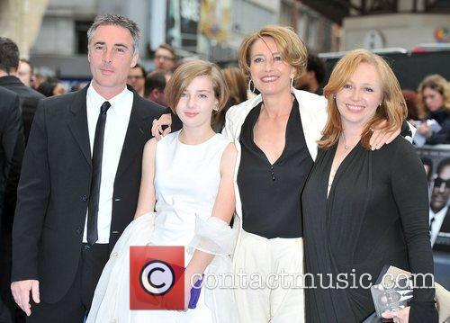 Greg Wise, Emma Thompson and Odeon Leicester Square 2