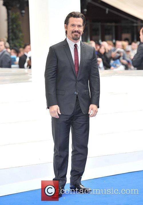 Josh Brolin and Odeon Leicester Square 1