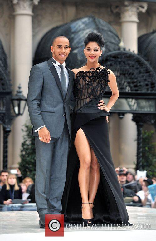 Lewis Hamilton, Nicole Scherzinger and Odeon Leicester Square 6