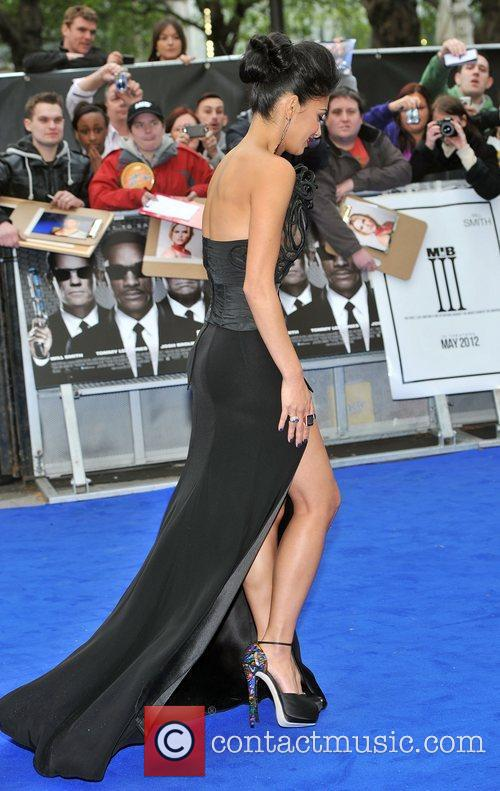 Nicole Scherzinger and Odeon Leicester Square 1