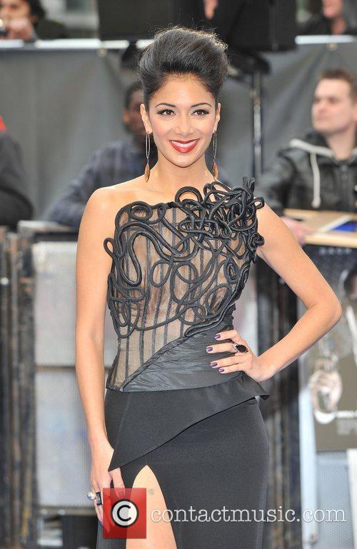 Nicole Scherzinger and Odeon Leicester Square 12