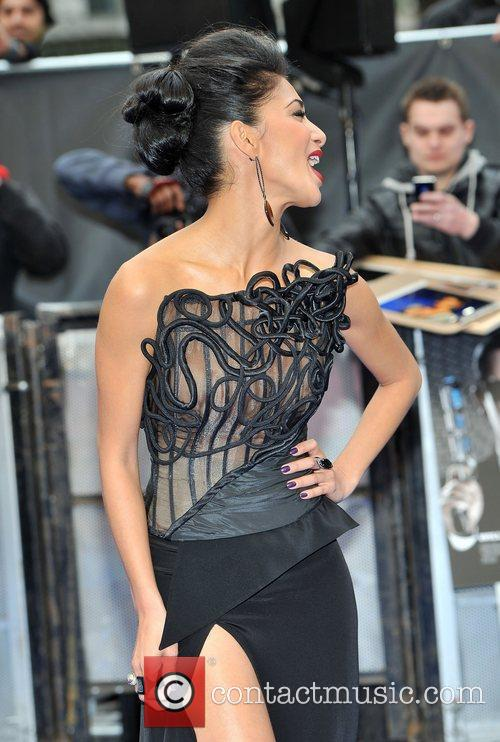 Nicole Scherzinger and Odeon Leicester Square 14
