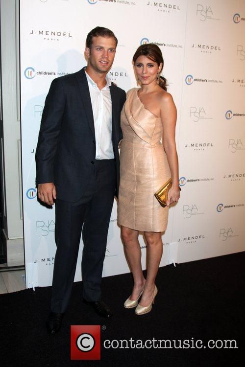 Cutter Dykstra and Jamie-Lynn Sigler arrives at the...