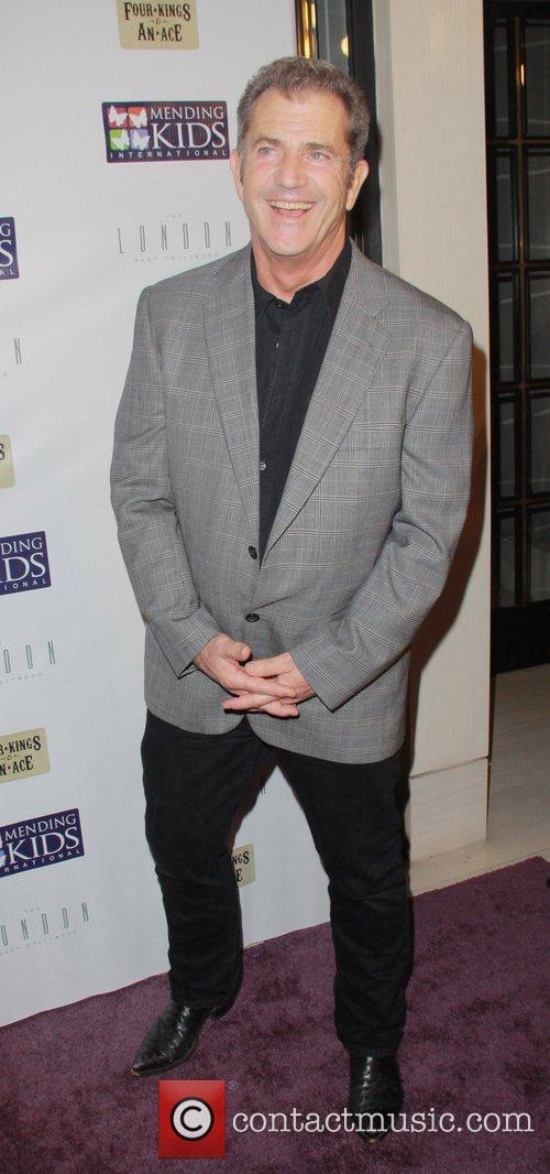 Mel Gibson Mending Kids International Celebrity Poker Tournament...