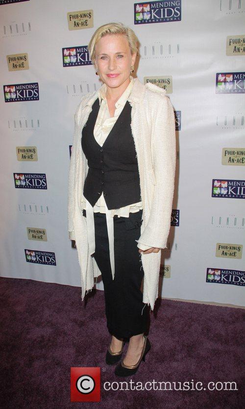 Patricia Arquette Mending Kids International Celebrity Poker Tournament...