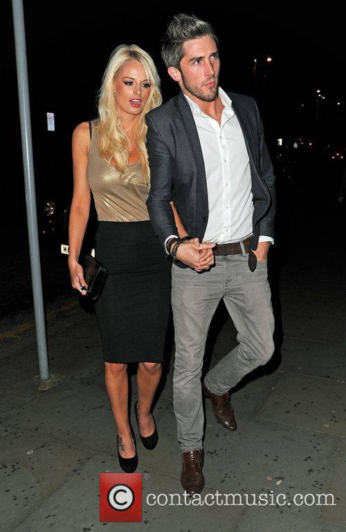 Celebrity Big Brother, Rhian Sugden, Kevin O'dea, Dea, Merabi Couture Launch, Raddisson Hotel. O' and Sion Hardy 5