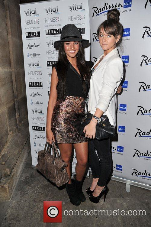 Michelle Keegan and Brooke Vincent 2