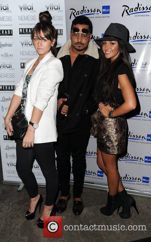 Michelle Keegan, Brooke Vincent and Umar Kumani 1