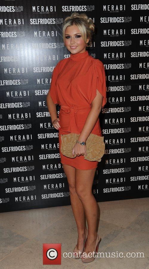 Chloe Cummings attends Merabi Couture Launch Party held...