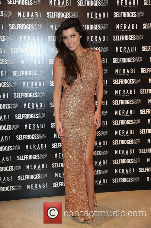 Louise Cliffe attends Merabi Couture Launch Party held...