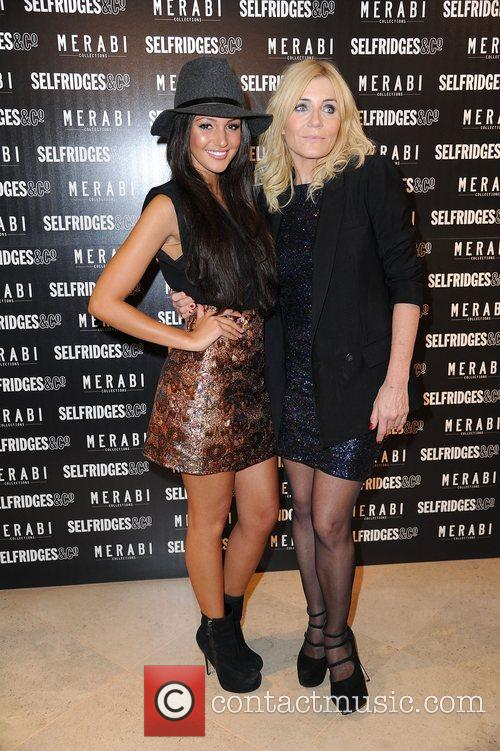 Michelle Keegan, Michelle Collins and Selfridges 3