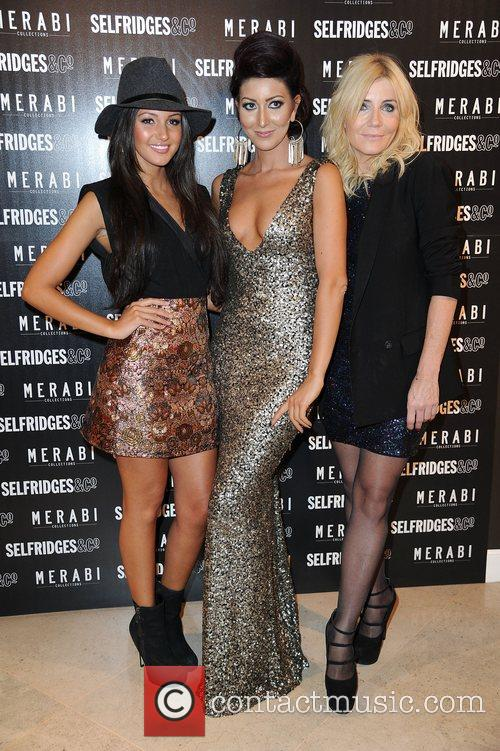 Michelle Keegan, Michelle Collins, Nadine Merabi and Selfridges 2