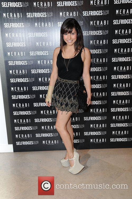 Roxanne Pallett  attends Merabi Couture Launch Party...
