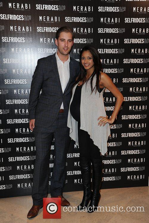 Sarah Lawrence and guest attend Merabi Couture Launch...
