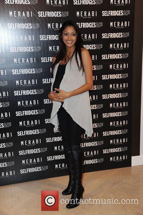 Attends Merabi Couture Launch Party held at Selfridges,...