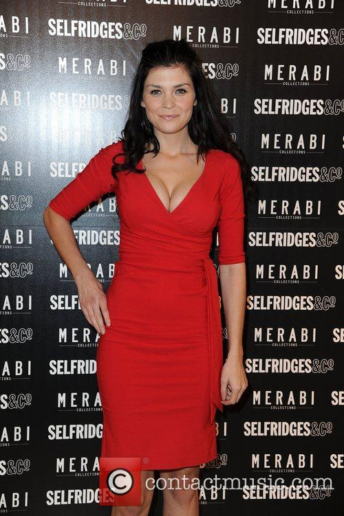 Sinead Moynihan attends Merabi Couture Launch Party held...