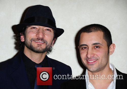 Paris Leonti and Robert Fucilla UK premiere of...