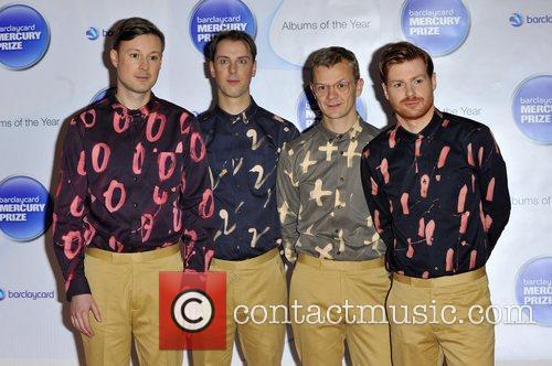 Django Django and Barclaycard Mercury Music Prize
