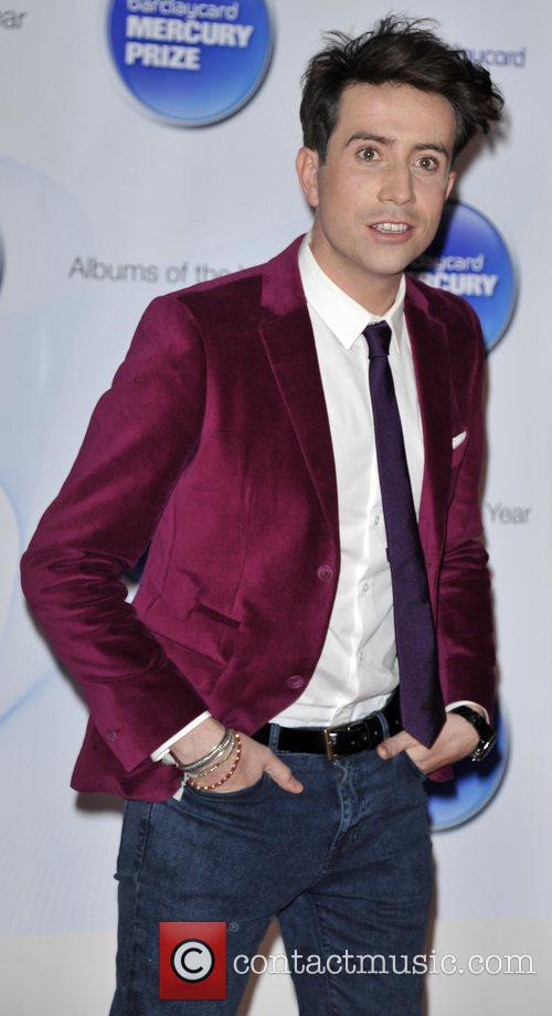 Nick Grimshaw and Barclaycard Mercury Music Prize 3